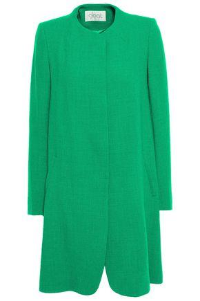 GOAT Wool-crepe coat