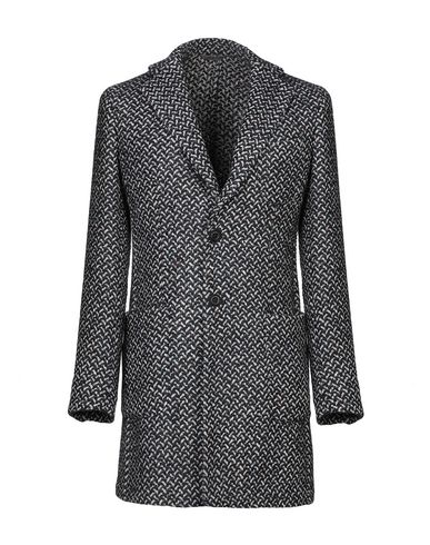Фото - Мужское пальто или плащ  темно-синего цвета
