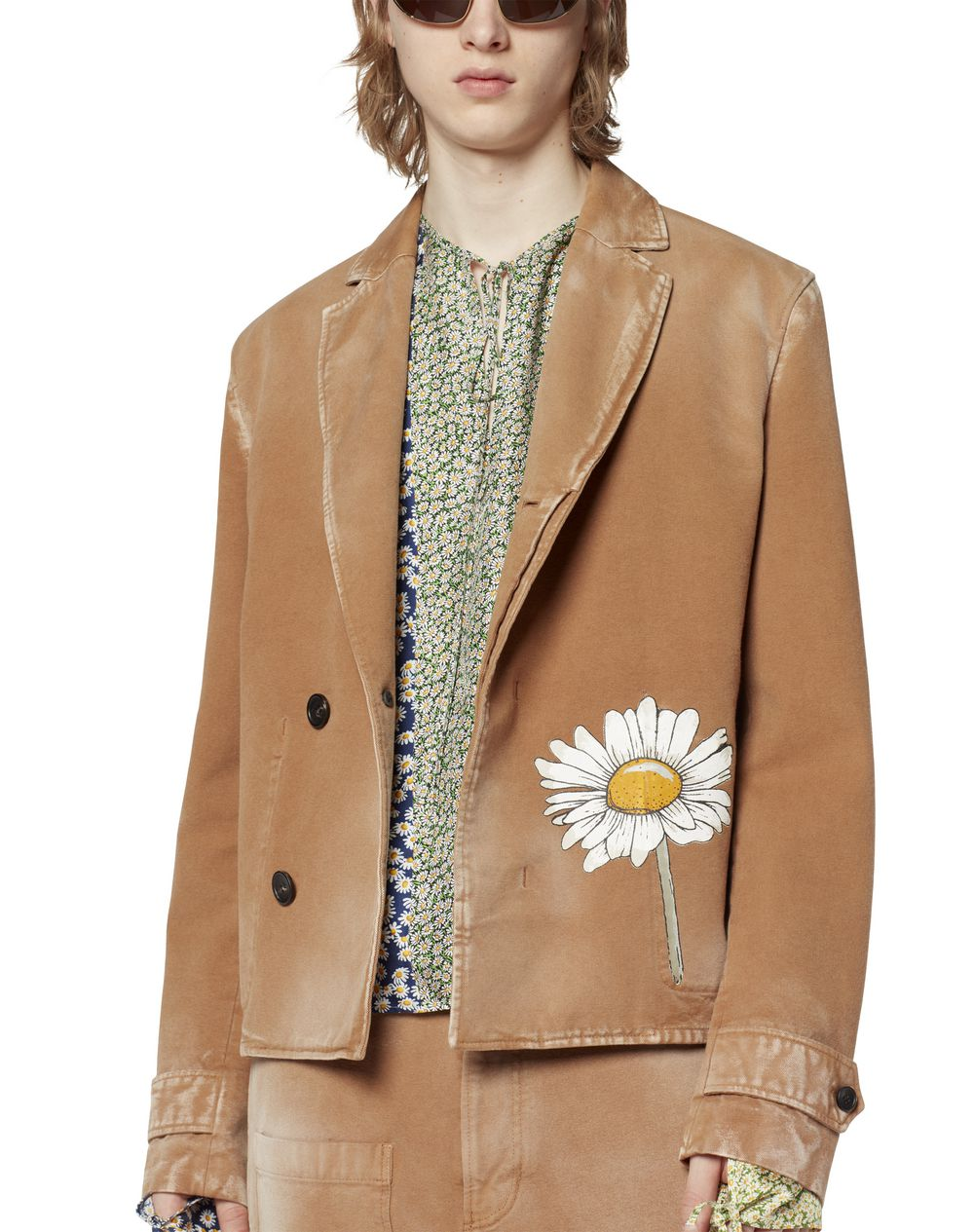 PRINTED CANVAS JACKET - Lanvin