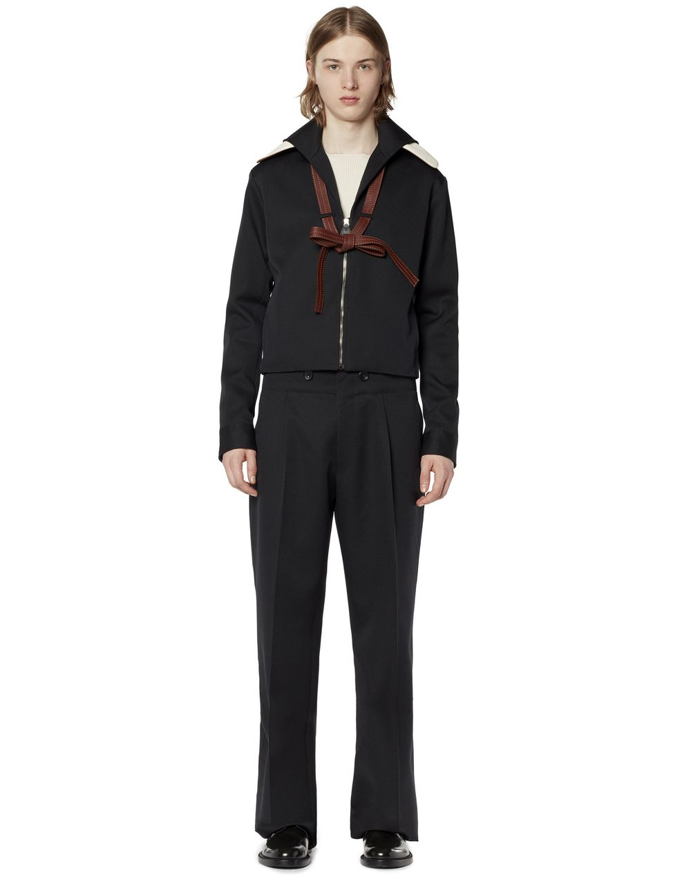 SHORT VIRGIN WOOL JACKET - Lanvin