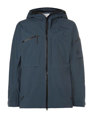 Фото - Мужскую куртку PEAK PERFORMANCE темно-синего цвета