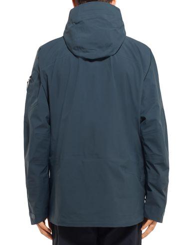 Фото 2 - Мужскую куртку PEAK PERFORMANCE темно-синего цвета