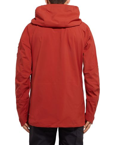 Фото 2 - Мужскую куртку PEAK PERFORMANCE ржаво-коричневого цвета