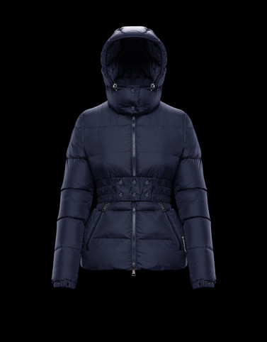 DON Dark blue View all Outerwear Woman