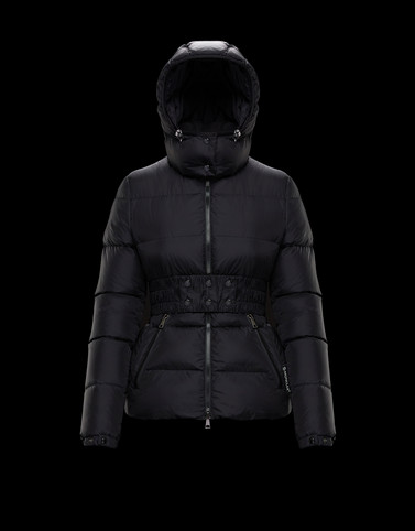 DON Black Short Down Jackets