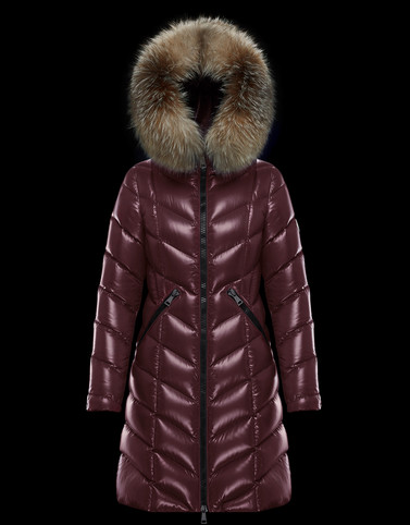 FULMARUS Bordeaux Long Down Jackets