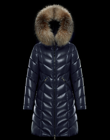FULMARUS Dark blue Long Down Jackets