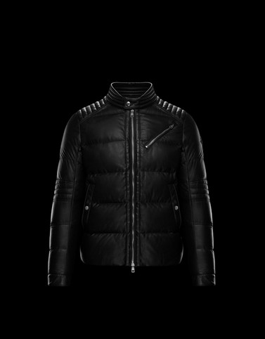 GARREL Black Category Biker jackets