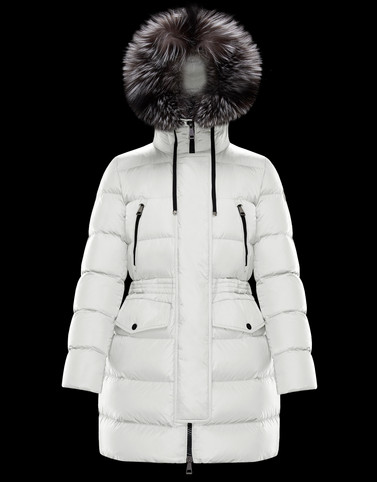 APHROTI White Category Long outerwear Woman