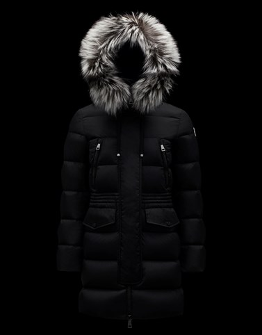 APHROTI Black Long Down Jackets