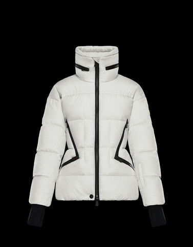 DIXENCE White Grenoble Down Jackets and Gilets Woman