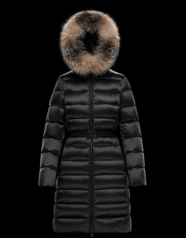 TINUV Black Long Down Jackets