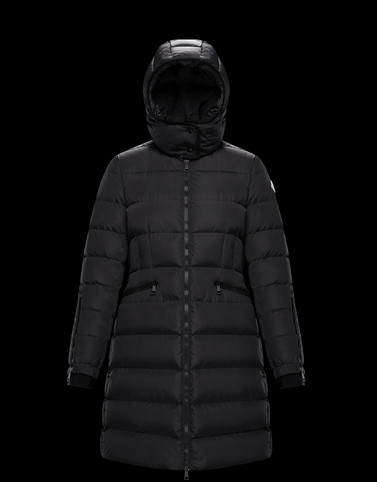 BETULONG Black Long Down Jackets Woman