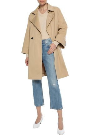 IRIS & INK Rorik cotton-twill trench coat