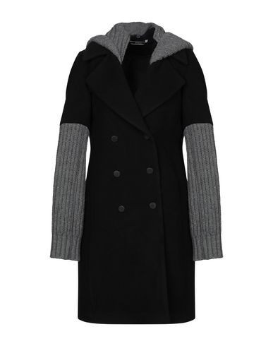 Купить Женское пальто или плащ BONSAI черного цвета