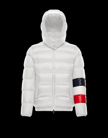 WILLM White Down Jackets Man