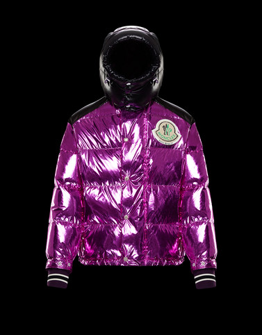TIM Fuchsia Down Jackets Woman