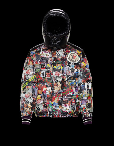 PAWEL Multicolor Down Jackets Man
