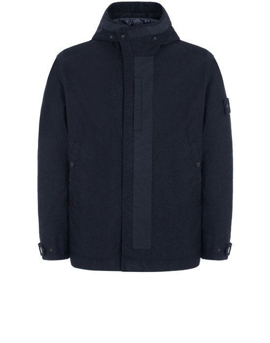 Sold out - STONE ISLAND 442F1 GHOST PIECE_MIL_SPEC DIAGONAL WOOL Jacket Man Blue