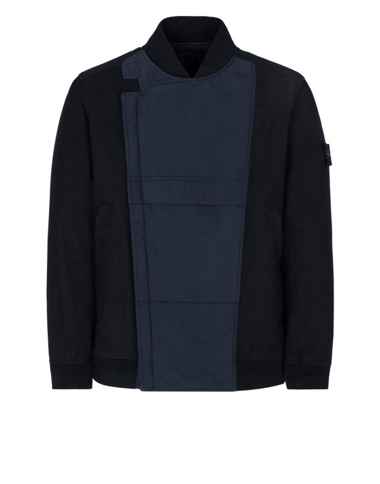 STONE ISLAND 443F1 GHOST PIECE_MIL_SPEC DIAGONAL WOOL Jacket Man