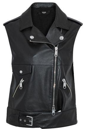 VERSUS VERSACE Leather vest