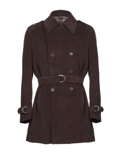 Фото - Мужское пальто или плащ YOON темно-коричневого цвета