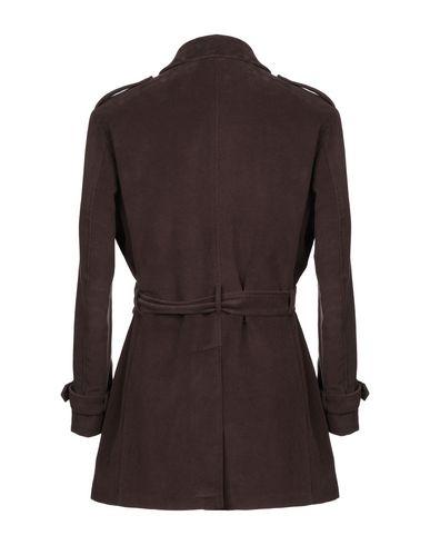 Фото 2 - Мужское пальто или плащ YOON темно-коричневого цвета