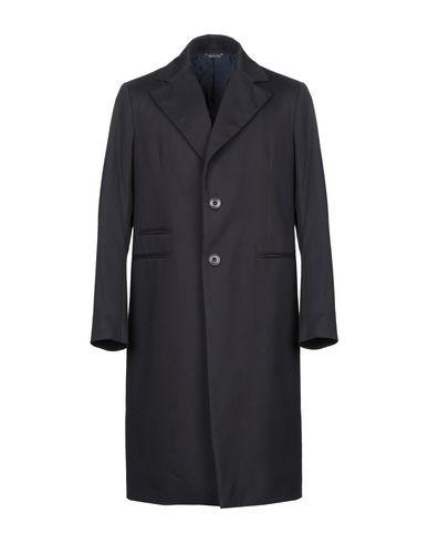 Фото - Мужское пальто или плащ YOON темно-синего цвета