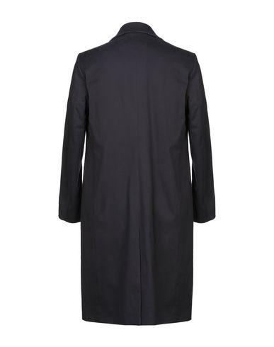 Фото 2 - Мужское пальто или плащ YOON темно-синего цвета