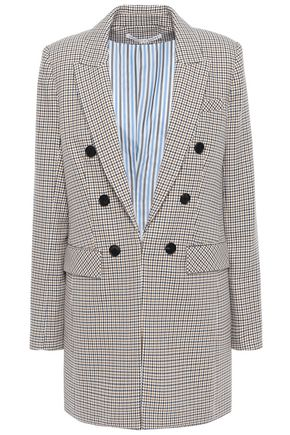 VERONICA BEARD Houndstooth cotton blazer