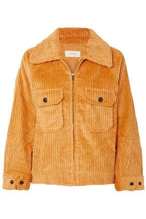 THE GREAT. The Boxy cotton-corduroy jacket