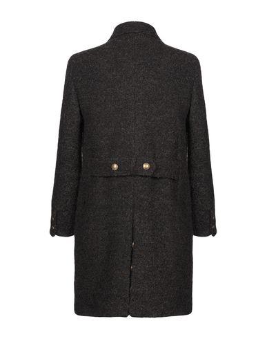Фото 2 - Мужское пальто или плащ ELEVENTY темно-коричневого цвета