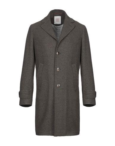 Фото - Мужское пальто или плащ ELEVENTY серого цвета