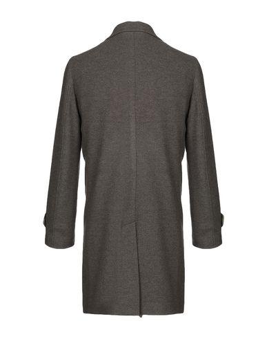 Фото 2 - Мужское пальто или плащ ELEVENTY серого цвета