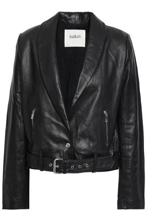 BA&SH Leather biker jacket
