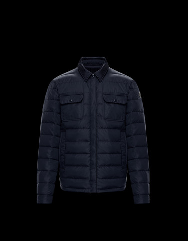 CAPTHEN Dark blue Category Overcoats