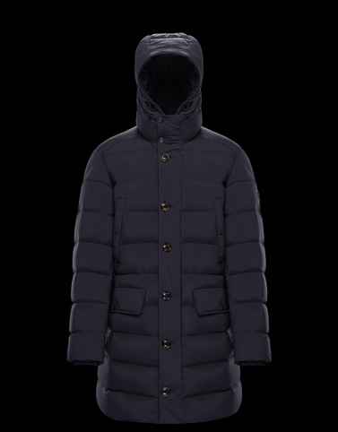 DARTMOOR Dark blue Category Coats Man