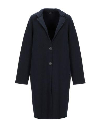 Фото - Легкое пальто от ALPHA STUDIO темно-синего цвета