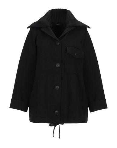 Фото - Женское пальто или плащ ALPHA STUDIO черного цвета