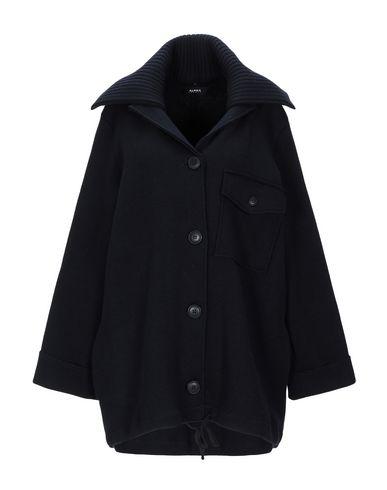 Фото - Женское пальто или плащ ALPHA STUDIO темно-синего цвета