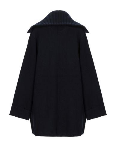 Фото 2 - Женское пальто или плащ ALPHA STUDIO темно-синего цвета