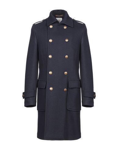 Фото - Мужское пальто или плащ ELEVENTY темно-синего цвета