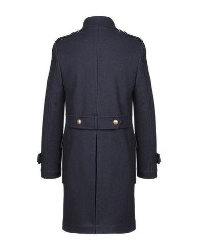 Фото 2 - Мужское пальто или плащ ELEVENTY темно-синего цвета