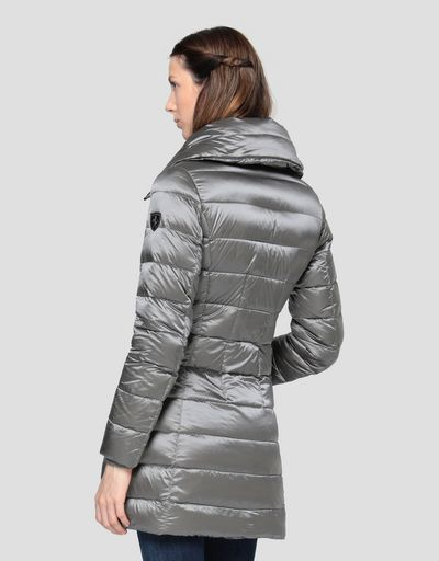 Water repellent women's down jacket with REAL DOWN