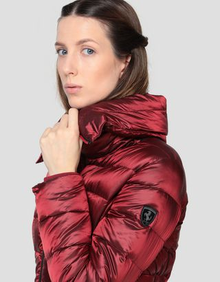 Scuderia Ferrari Online Store - Women's Real Down water-repellent jacket - Down Jackets