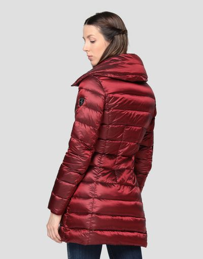 Piumino donna in REAL DOWN water repellent