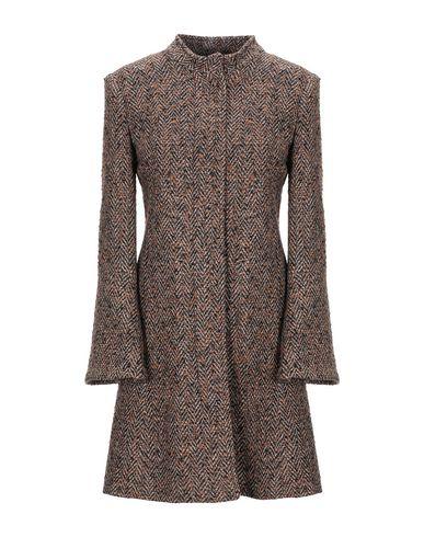 Фото - Женское пальто или плащ BIANCOGHIACCIO коричневого цвета