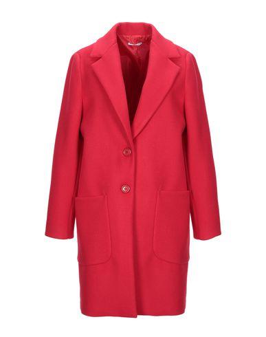 Фото - Женское пальто или плащ BIANCOGHIACCIO красного цвета