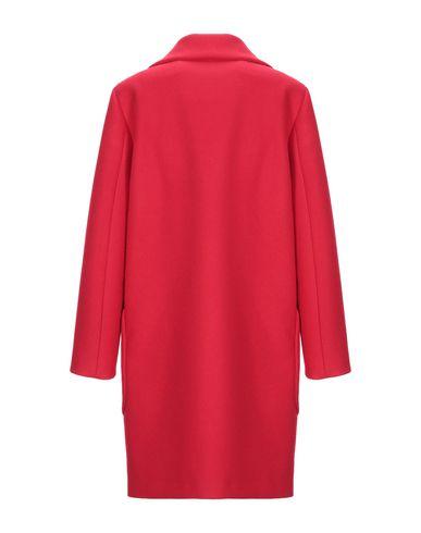 Фото 2 - Женское пальто или плащ BIANCOGHIACCIO красного цвета