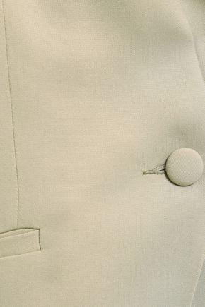 MICHELLE MASON Boxy crepe blazer